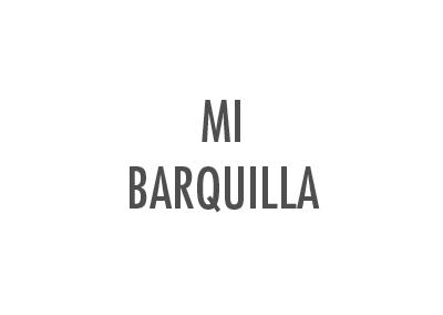 MI BARQUILLA