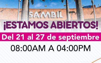 ¡Una nueva semana de compras te espera en Sambil!