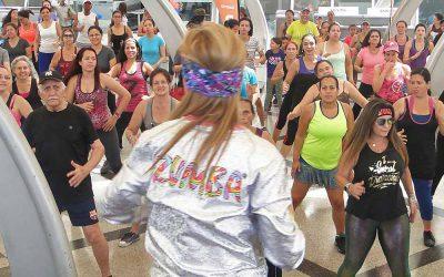 MASTER CLASS CON LAURA CARIA HIZO VIBRAR AL CENTRO SAMBIL CARACAS