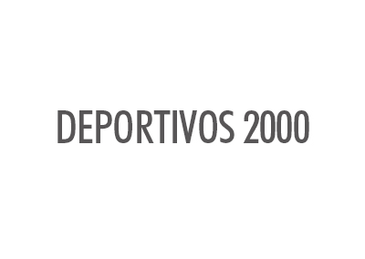 DEPORTIVOS 2000