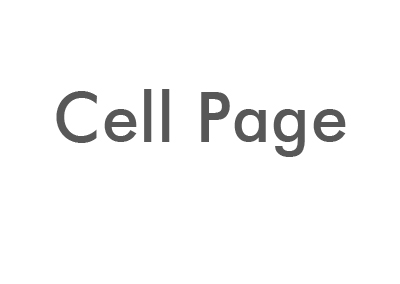 CELL PAGE