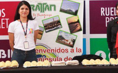 SAMBIL PARAGUANÁ CELEBRÓ EL DÍA MUNDIAL DE LA AREPA CON SUS VISITANTES