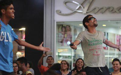PARAGUANÁ VIBRÓ AL RITMO DE JUST DANCE