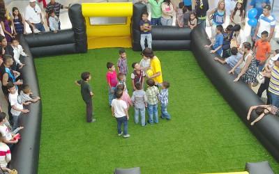 Sambil San Cristóbal celebró con los niños en su día