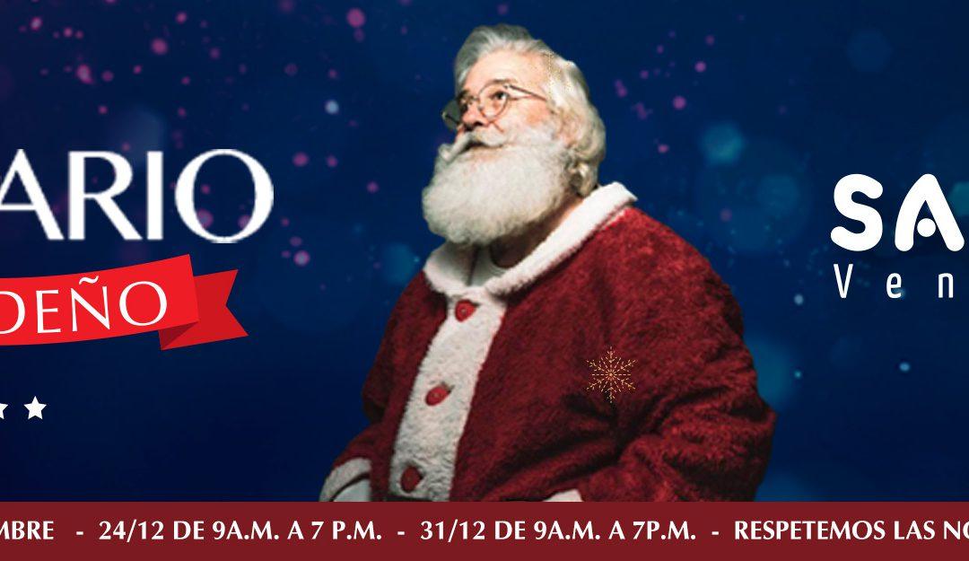 ¡En el mes de diciembre Sambil extiende su horario navideño!
