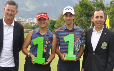 Sambil celebró su tercer Abierto de Golf