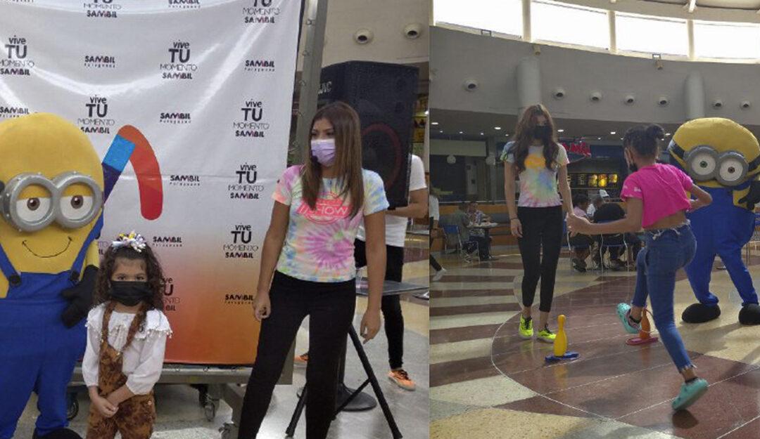 Divertida feria de juegos en Sambil Paraguaná