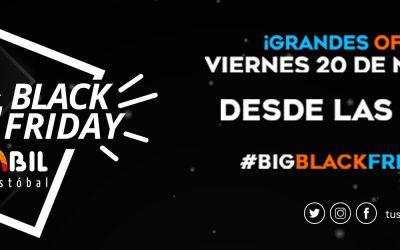 "Sambil celebra el ""Big Black Friday"""